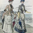 Upon a visit to the Royal Ontario Museum's Library and Archives, I was completely taken with the fashion plates dating from 1885 to 1886 that were printed in the Revue […]